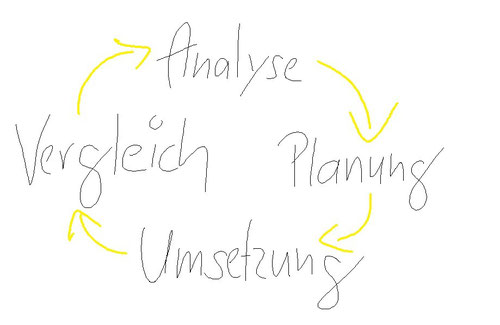Abbildung: Der Controlling-Prozess