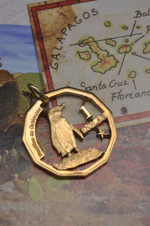 Münzsägewerk Katrin Thull | Galapagos - Pinguin