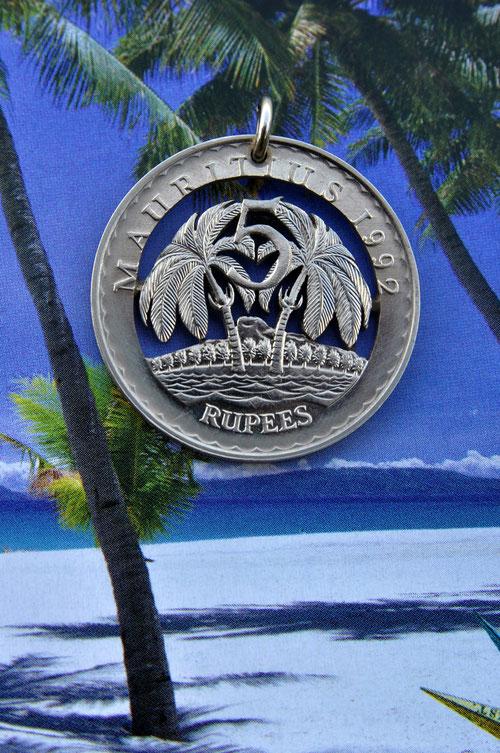 Münzsägewerk Katrin Thull | Mauritius - Palmen