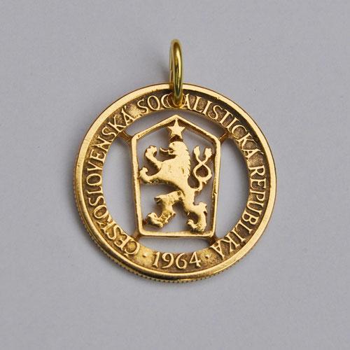 Münzsägewerk Katrin Thull   Tschechoslowakei - Wappen
