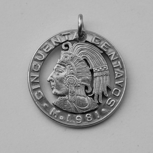 Münzsägewerk Katrin Thull | Mexiko - Aztekenkönig