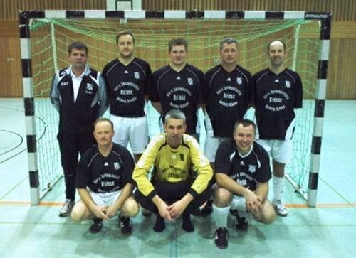 Vize- Stadtmeister- Das Team Ü- 35 des FSV- Schröck