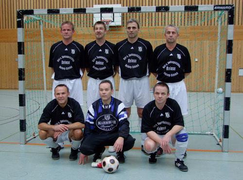 Stadtmeister- Das Team Ü- 50 des FSV- Schröck