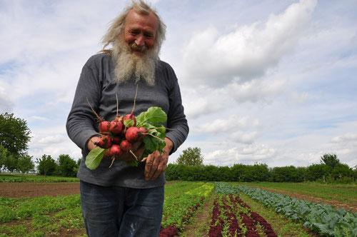 Erwin Ehemann - einer unserer Bauern.      Bild: Neumarkter Lammsbräu