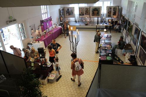 Salle Bouyssel dans le Marché Régional de L'Art dernière expo.