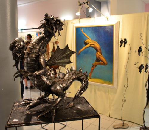 Toile Anne-Claire P                Sculpture Thierry D