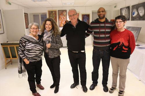 Chez Arts et Artistes Exposition Pat Baro, Marie Fest, Franck Diawara jusqu'au 27