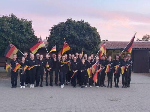 Rheinland-Pfälzer beim Deutschen Voltigierpokal der L-Gruppen