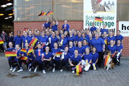 ausgelassene Freude über den Gesamtsieg! Rheinland-Pfalz in Feierlaune!