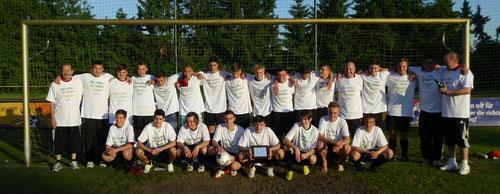 B-Jugend 1996: Kreismeister 2013 (07.06.2013)
