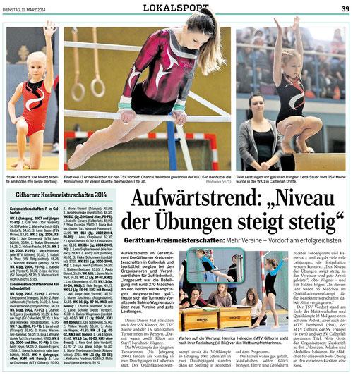 (Quelle: Aller-Zeitung vom 11.03.14)