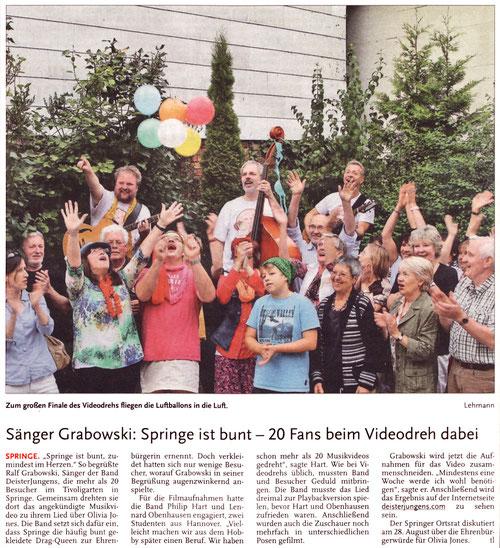 Deister Anzeiger, 02.08.2013
