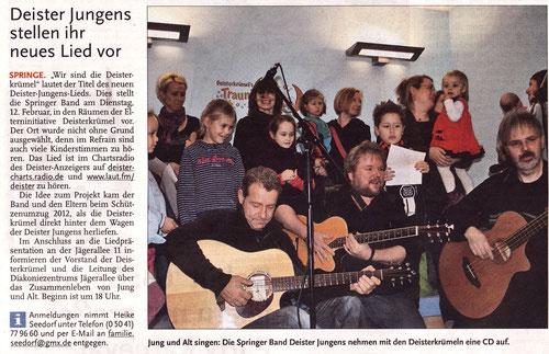 Deister Anzeiger, 05.02.2013