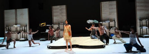 Salzburger Festspiele auf der Pernerinsel Hallein