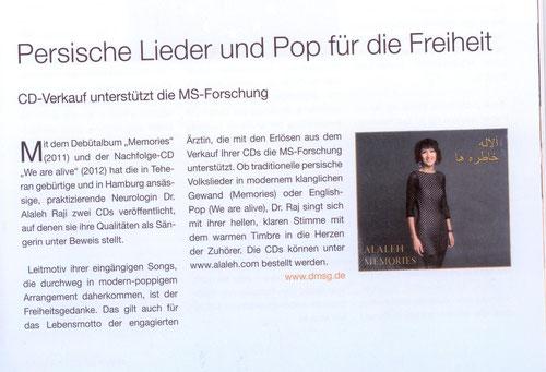 """Zeitschrift """"aktiv"""" der DMSG"""