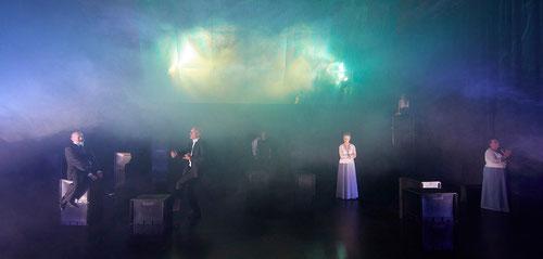 Foto  aus der Aufführung <John Gabriel Borkman>