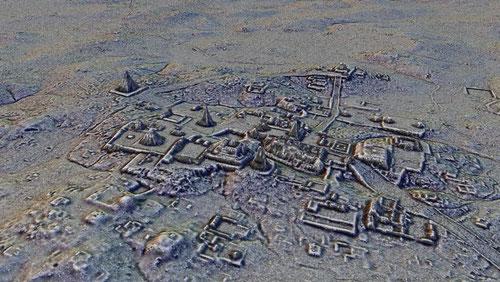 Vista de la ciudad de Tikal. / Fundación PUCAMAN