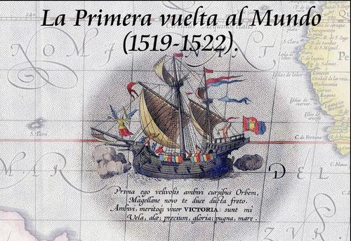 Ilustración del navío La Victoria/ Diario del viajero