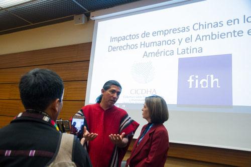 Delegaciones de países Latinoamericanos presentaron informe en la Naciones Unidas sobre los impactos de las empresas chinas. Foto (CC): Hiperactiva Comunicaciones /Mongabay.