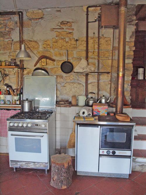料理上手なアントネッロとおもてなし上手なご家族が集うキッチン