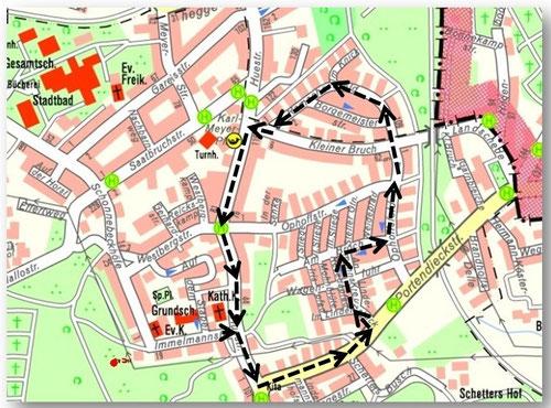 Kartengrundlage: Copyright © Stadt Essen - Amt für Geoinformation, Vermessung und Kataster