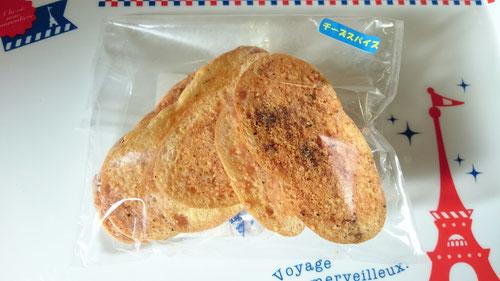 米粉チーズスパイスラスク