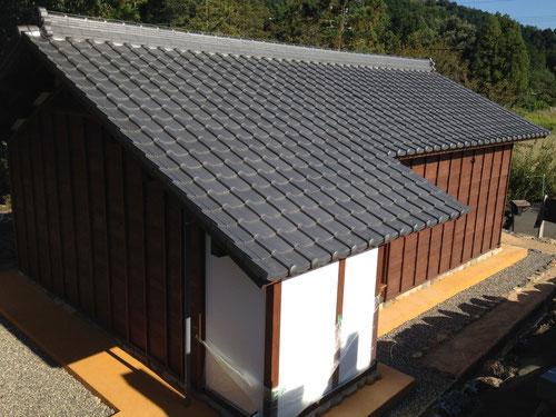 獅子庵 松尾芭蕉の弟子、各務支考のゆかりの建物を建築しました。