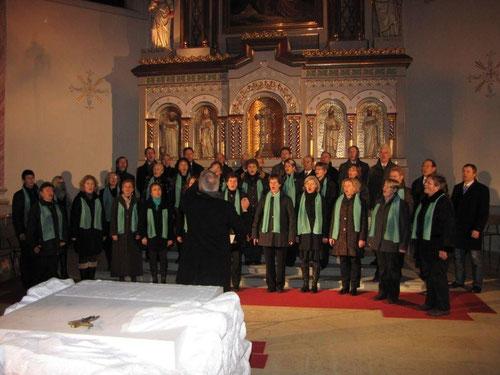 28.11.2010 A bsundre Zit - Pfarrkirche Alberschwende - Adventsingen Trachtenverband Vorarlberg