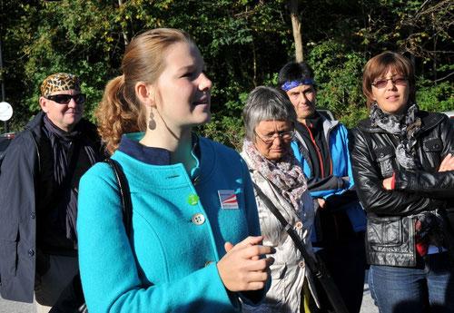 06.10.2012 Führung durch das Panoramamuseum Innsbruck und das historische Städtchen Hall in Tirol mit Austria Guide Katharina Seeber