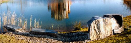 Form am See Wachauer Marmor, Tauerngrün Serpentin
