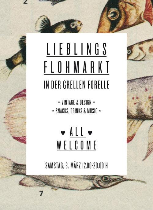 """IRENAEUS KRAUS am Samstag, den 3. März 2012, beim Lieblingsflohmarkt #3 im Club """"Grelle Forelle"""""""