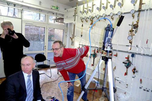 LMP Ingenieure Netzband und Lübke Senior mit Herrn Tölbe CalPlus GmbH