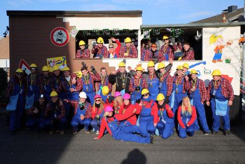 unsere Truppe zu Karneval 2013