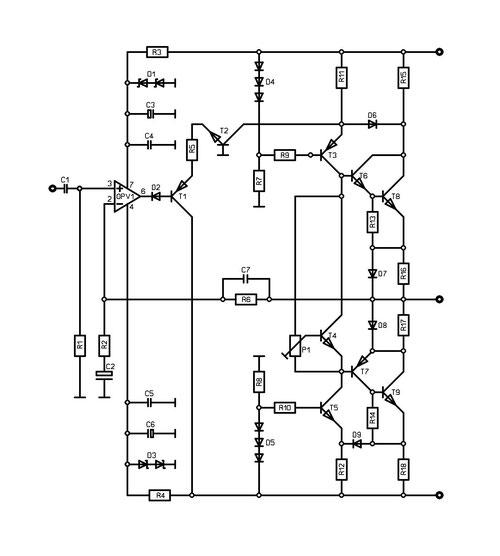 25-80w power amplifier