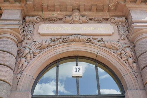 Sandstein-Portal des Zuckerinistituts  © Diana Schaal