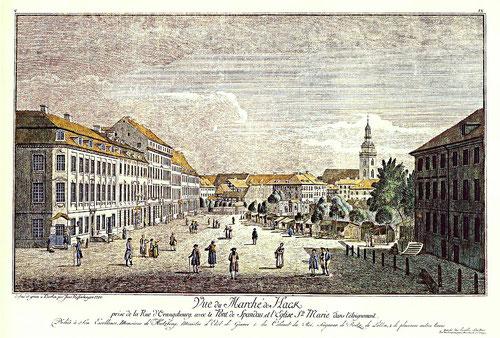 Johann Georg Rosenberg, Hacke'scher Markt, 1780