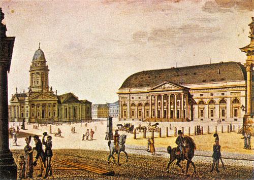 Königliches Nationaltheater am Berliner Gendarmenmarkt