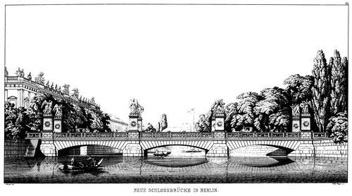 Karl Friedrich Schinkel, Schlossbrücke, 1866
