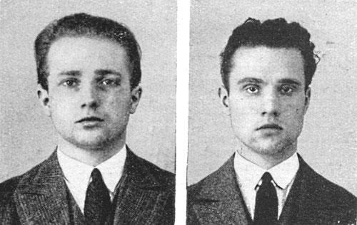 Franz und Erich Sass