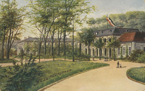 Postkarte vom Heilbad,  1808