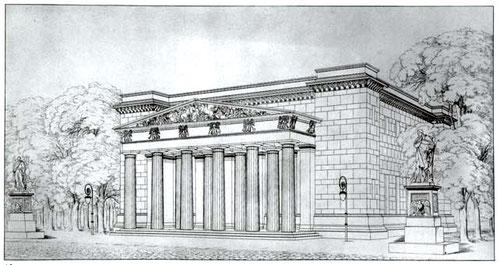 Karl Friedrich Schinkel, Neue Wache, 1819