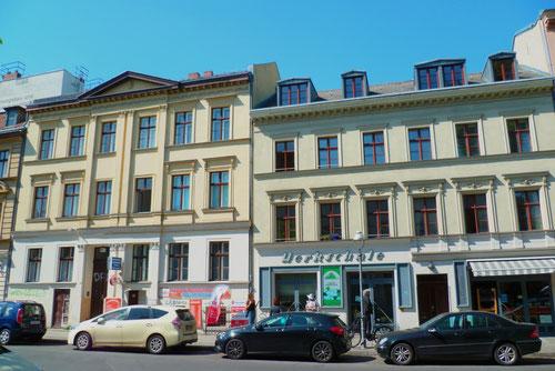 Häuser Stettiner Straße 64 und 63 © Diana Schaal