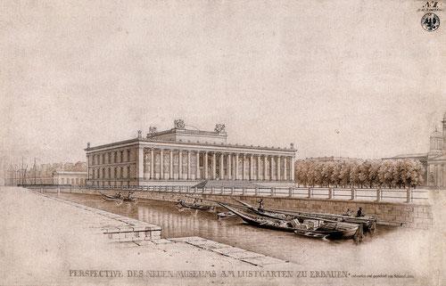 Karl Friedrich Schinkel, Altes Museum, 1825