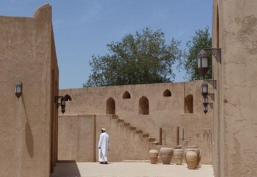 In der Festung Jabrin