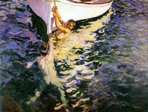 Joaquin-sorolla-le-bateau-blanc-javea