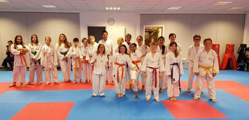 Schülergruppe (9 - 14 Jahre)