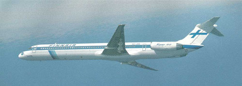 MD-82 der Finnair/Courtesy: McDonnell Douglas