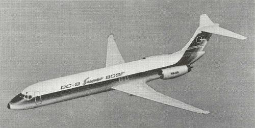 Das Konzept der DC-9 Super 80SF/Courtesy: McDonnell Douglas