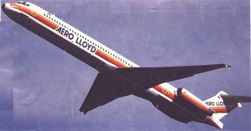 Einst sicher in den Urlaub, mit einer MD-83 der Aero Lloyd/Courtesy: Aero Lloyd