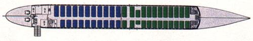 Frühe MD-95-Auslegung mit 111 Sitzplätzen/Courtesy: McDonnell Douglas